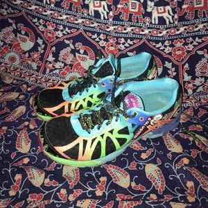 Colorful ASICS Running Shoes
